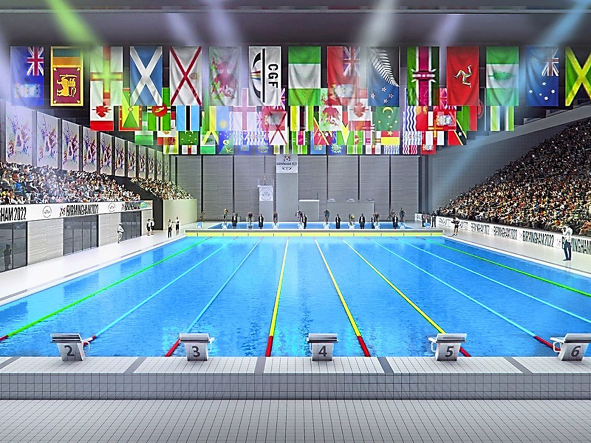 Swimming is one of the main events of the games. Photo: Birmingham City Council