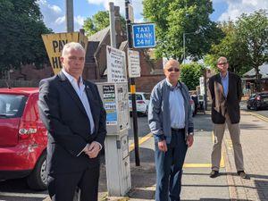 Councillors Ewen Mackey, David Pears and Simon Ward