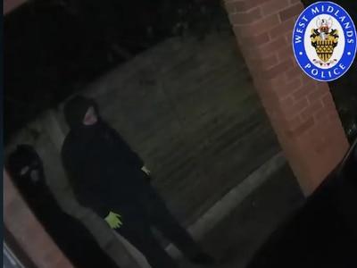 WATCH: CCTV footage released after car key burglary in Sedgley