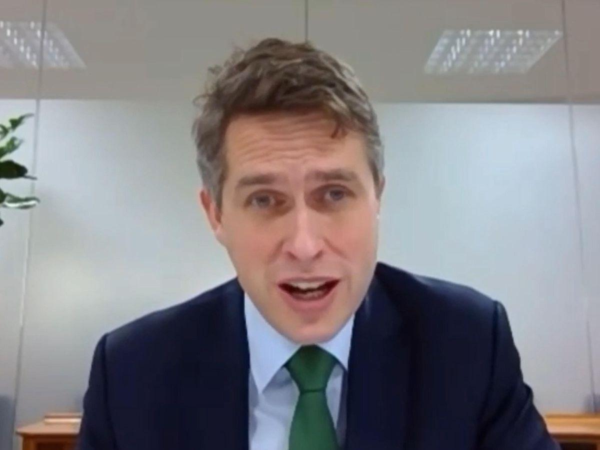 Education Secretary Gavin Williamson