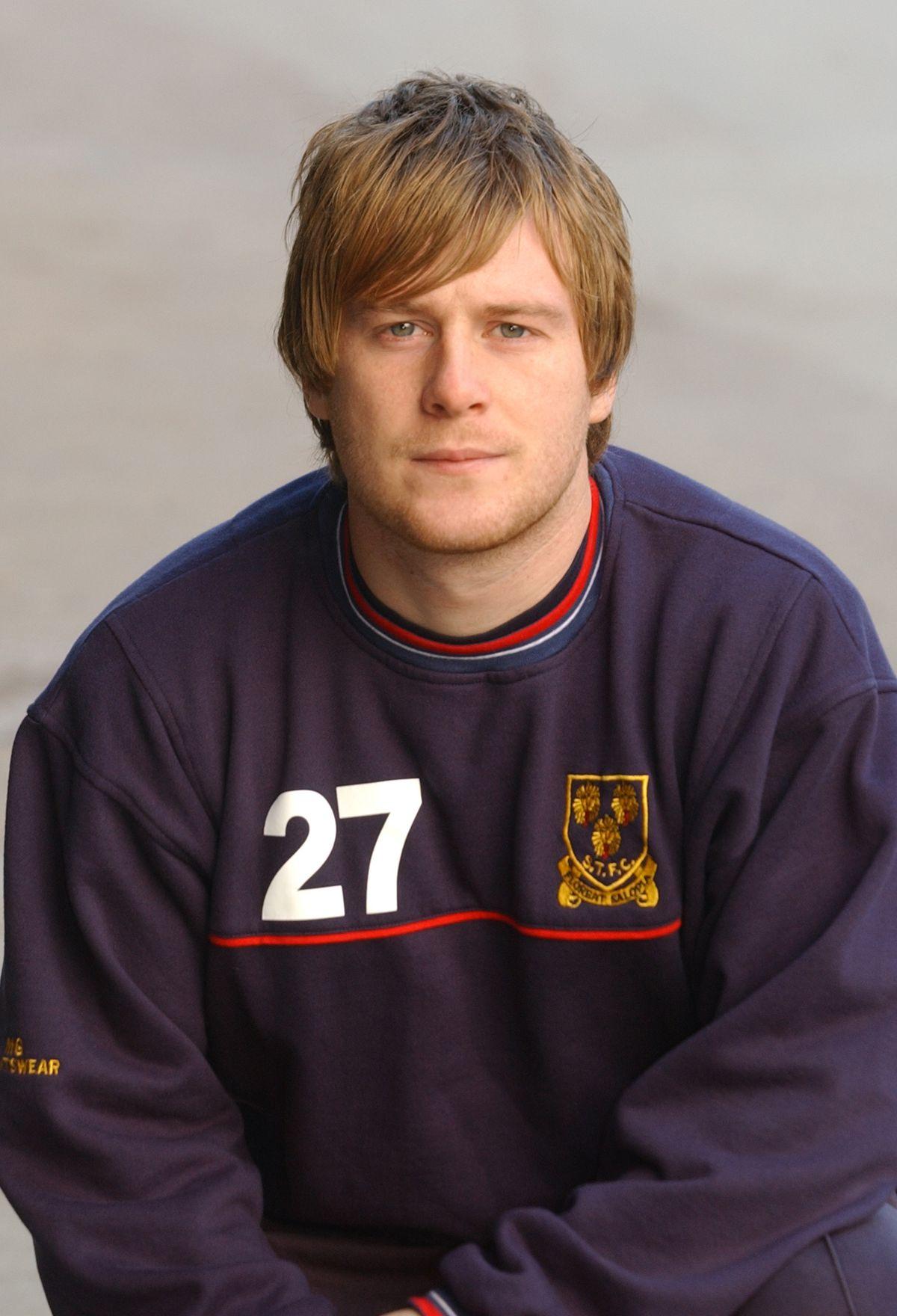 Jody Bamin during his time at Shrewsbury Town