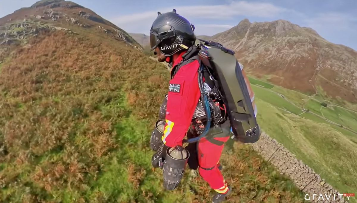 How far, how high? (photo: Youtube/Gravity Industries)