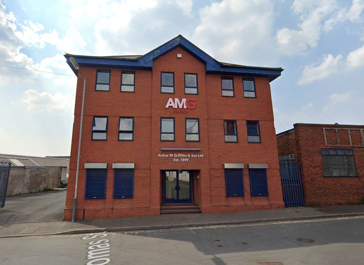 Arthur M Griffiths offices in Wolverhampton