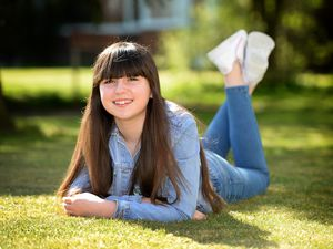 Sophie Bullock, aged 12, from Aldridge, is the lead child actress in a short psychological thriller film