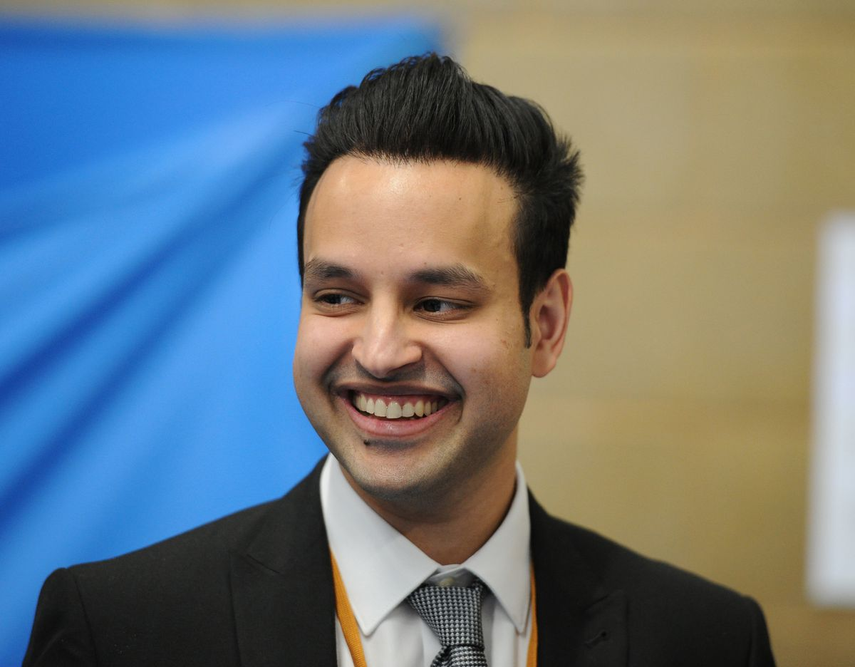 Tory candidate for Wolverhampton North East Ahmed Ejaz