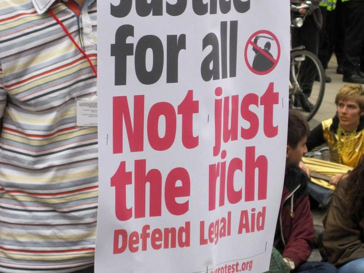 Legal aid demonstration