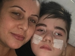 Seriously-ill boy left in hospital after repairs to council house