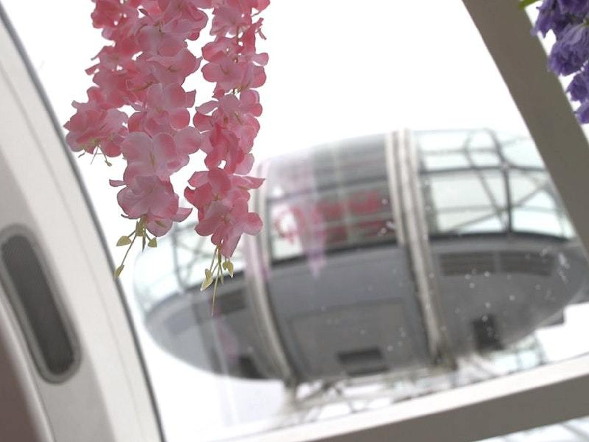 A floral experience at the London Eye