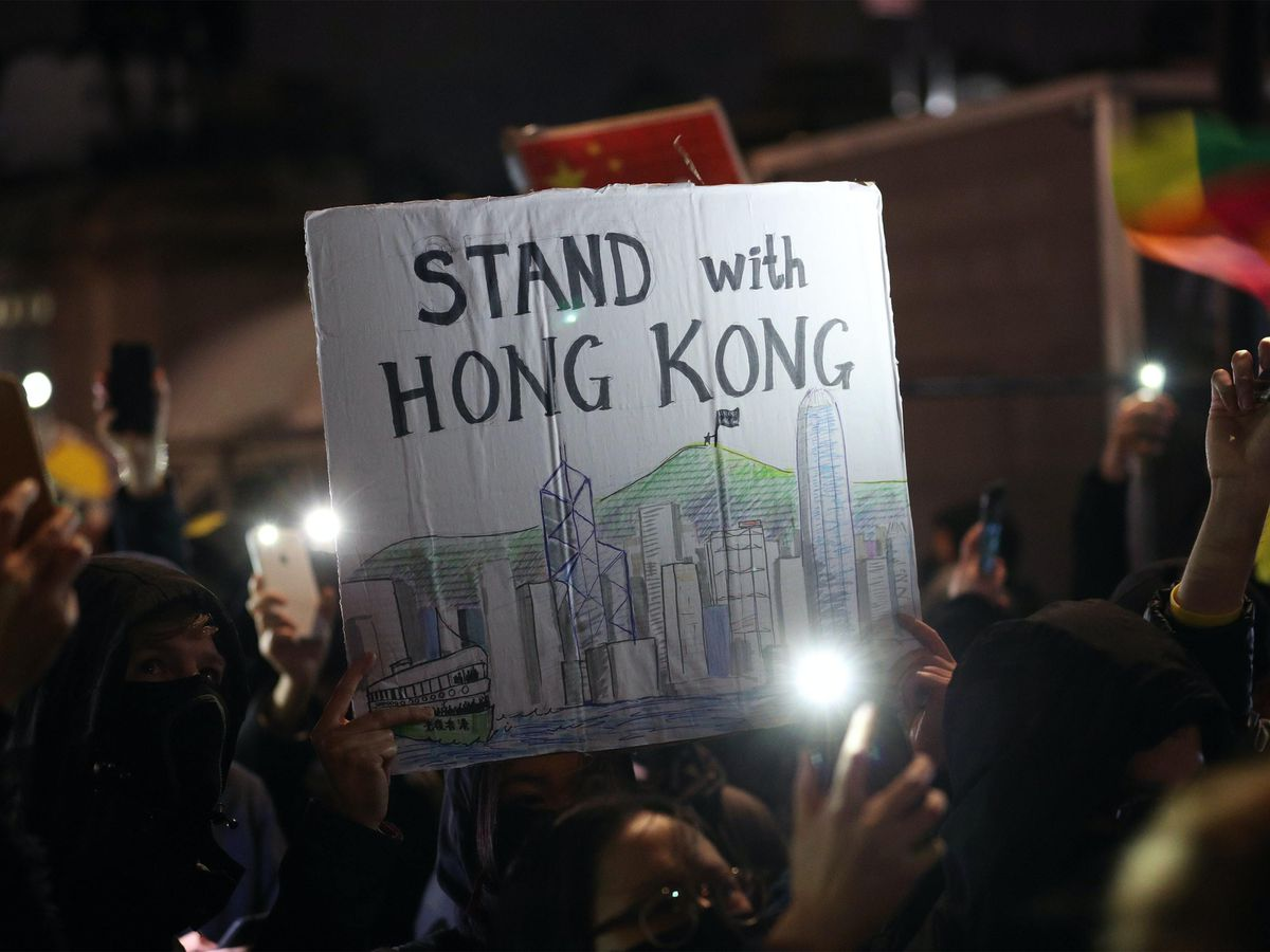 Protests against the new national security law in Hong Kong