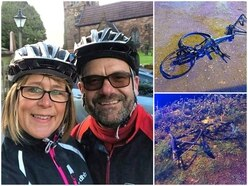 """""""I feel cheated of life"""" - Injured cyclists knocked from bikes were training for charity ride"""