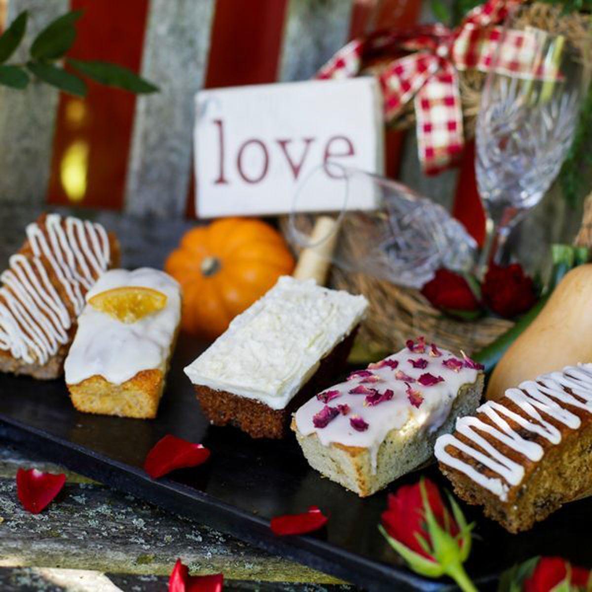 Romantic Valentines Cake Selection