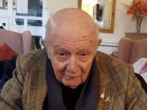 Second World War veteran Wilfred Dawson has died aged 99. Photo: Susie Phillips/Facebook