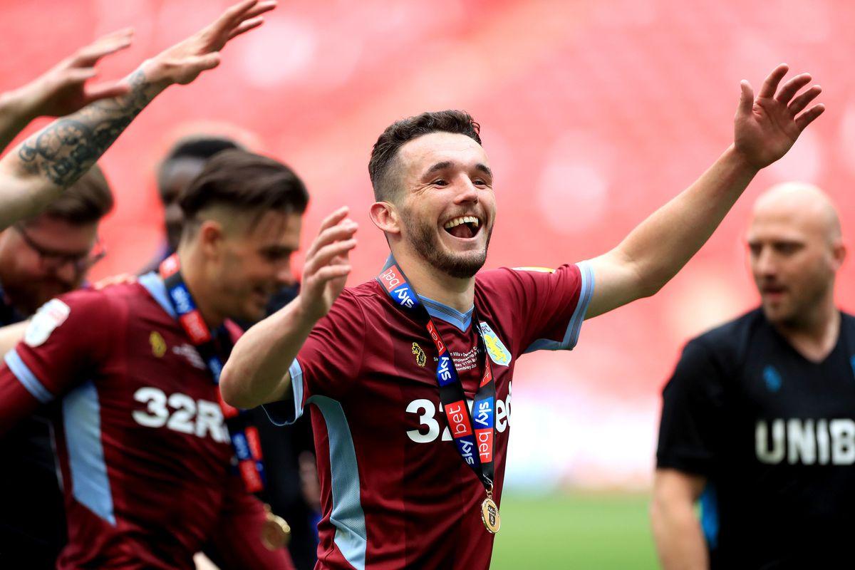 Aston Villa's John McGinn celebrates (Mike Egerton/PA Wire)