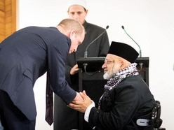 The terrorist failed: Defiant duke's words of unity for mosque attack families