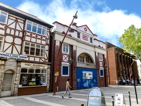 Former Walsall cinema and pub goes under the hammer