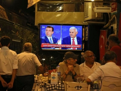 Rival candidates to be Istanbul mayor hold debate ahead of poll rerun