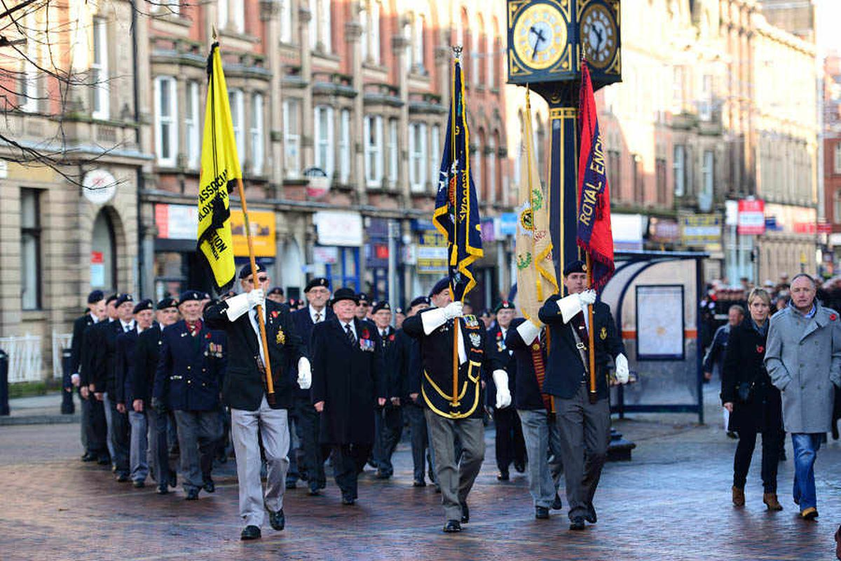 Walsall Poppy Day parades hit by lack of police