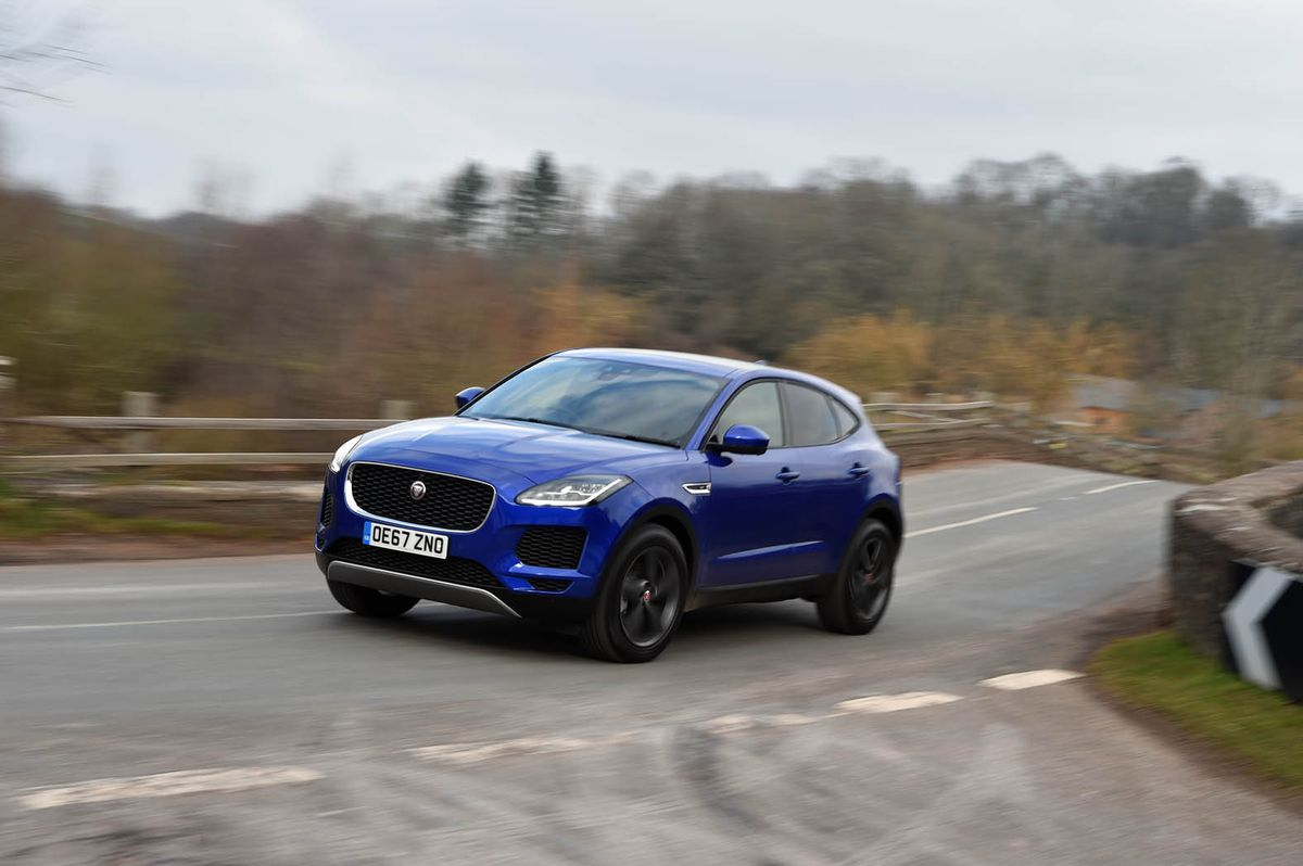 Sales of the new E-Pace were the only positive for Jaguar in June.