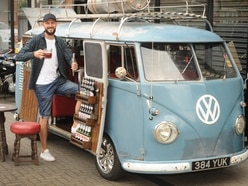 One for the road! VW camper turned into pub on wheels