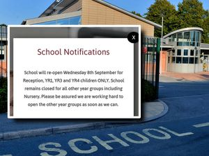 Barcroft Primary School in Willenhall could not open on the first day of term due to staff refusing to come in
