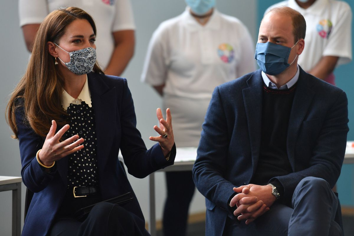 The Duke and Duchess of Cambridge at The Way Youth Zone