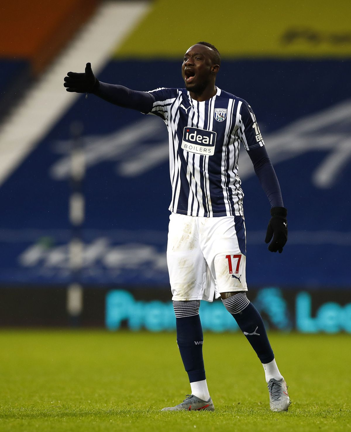 West Bromwich Albion's Mbaye Diagne
