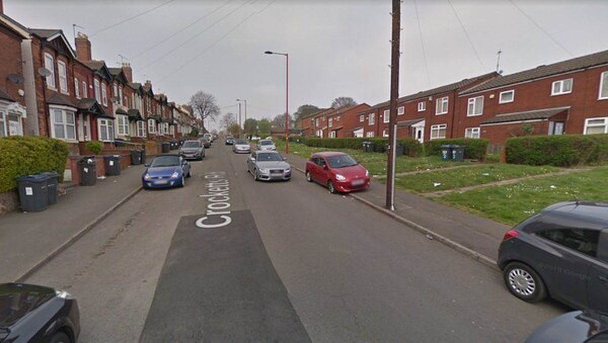 Crocketts Road is a residential road leading towards Smethwick from Handsworth. Photo: Google Maps