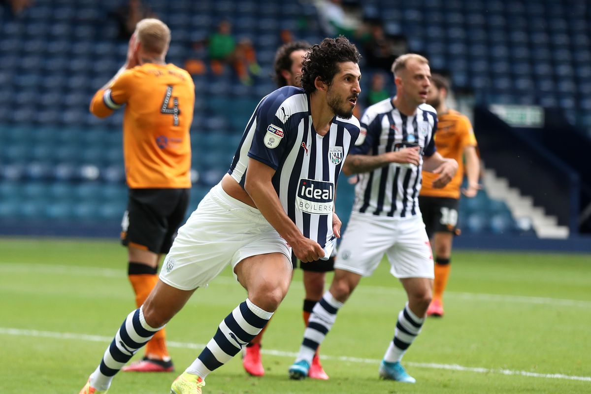 Ahmed Hegazi of West Bromwich Albion