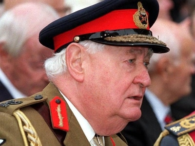 Former head of the Armed Forces Lord Bramall dies at 95