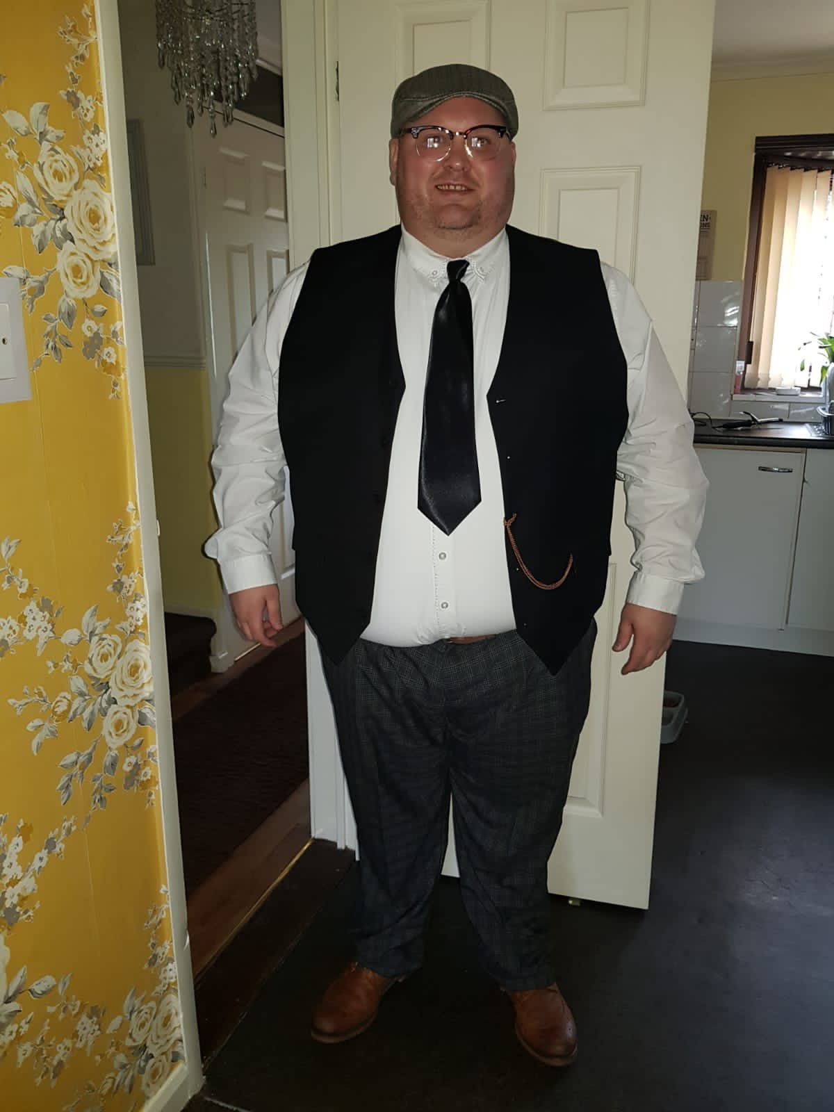 Maurice Willetts at his heaviest