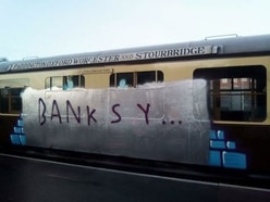 Historic Severn Valley Railway carriages vandalised by yobs