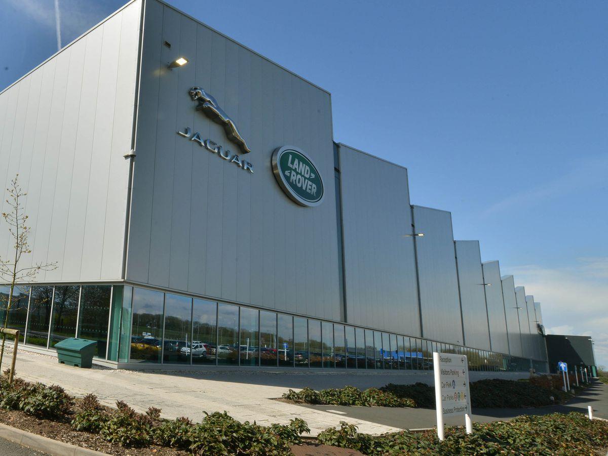 Jaguar Land Rover's engine plant next to the M54 .