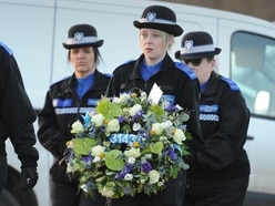 Touching tributes paid at funeral of PCSO Holly Burke