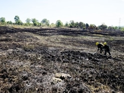 Staffordshire grass fires rise as yobs run riot