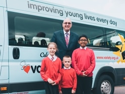 School gifted new minibus by children's charity