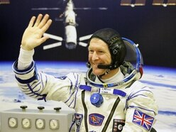 Astronaut Tim Peake given freedom of home city Chichester