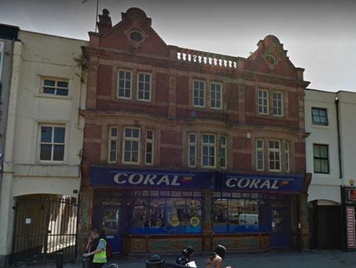The former Coral shop in Bradford Street, Walsall. Photo: Google