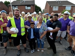 DIY SOS gets to work in West Bromwich helping family devastated by cancer death