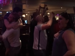 WATCH: Wolverhampton pub erupts as England beat Colombia