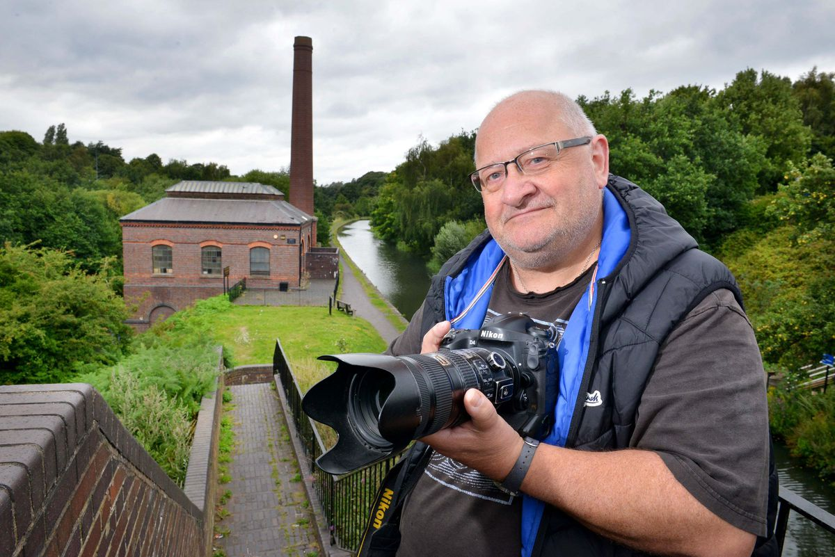 Smethwick by the Pump House next to the canal, where photographer Kevin Maslin from Tipton, will be leading a photographic walk this weekend