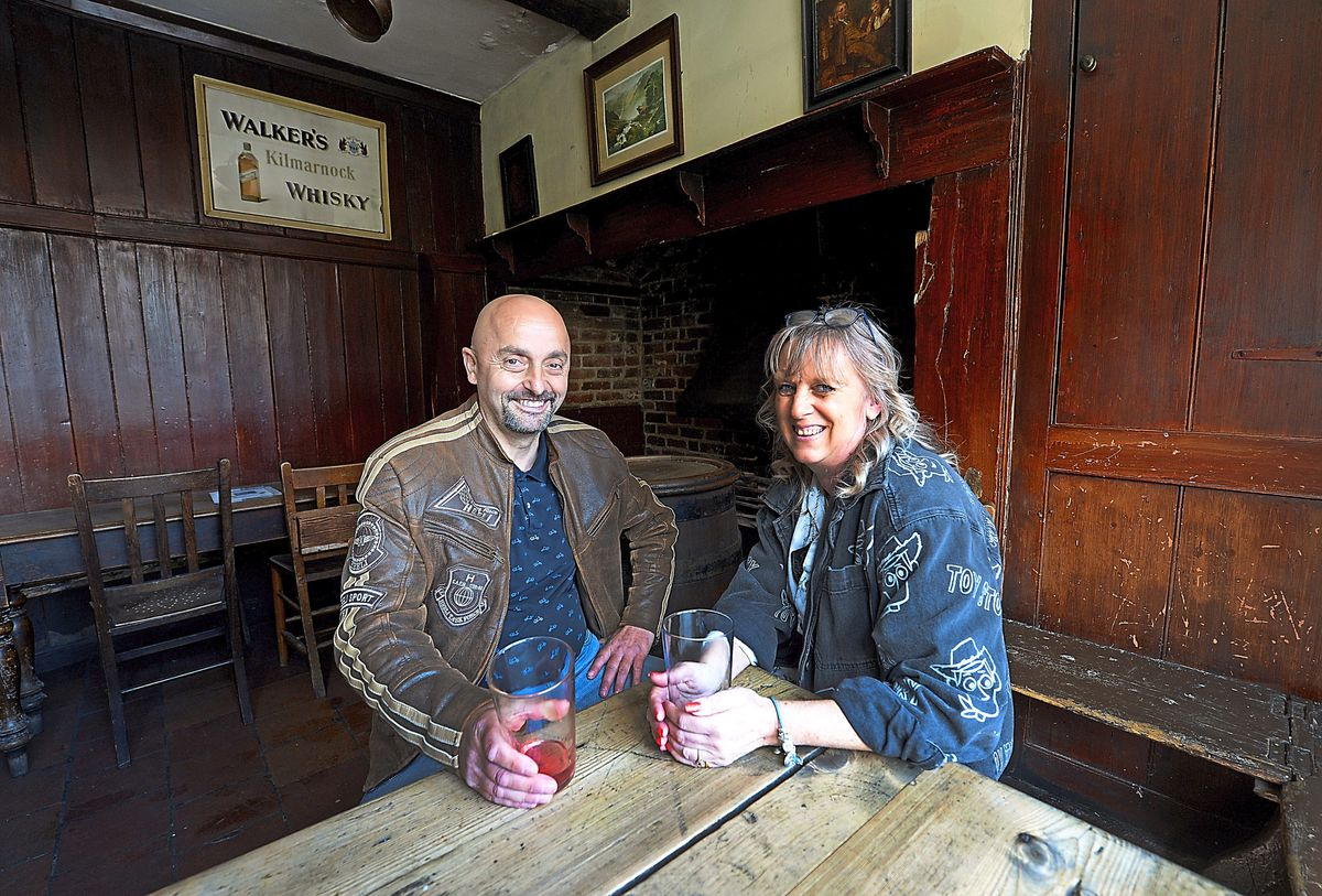 Tony and Gina Sibley at the Black Country Living Museum