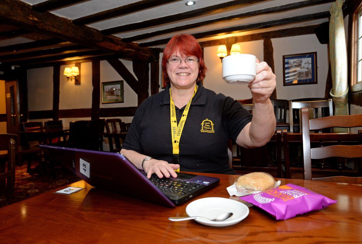 Hayley Buck, of the Lychgate Tavern, Wolverhampton