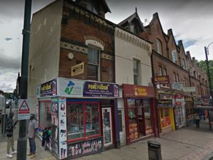 Numbers 17 and 19 Broad Street, Wolverhampton. PIC: Google Street View