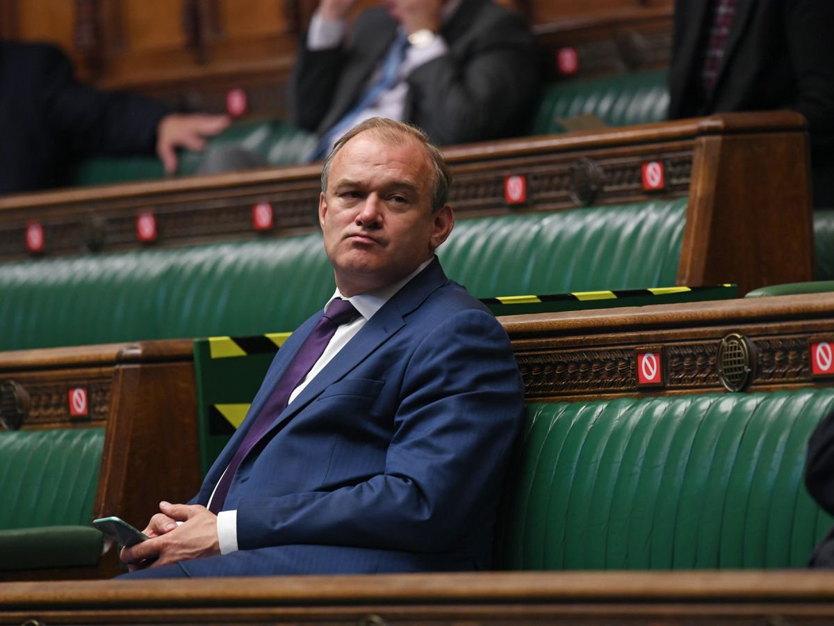 Sir Ed Davey in the Commons
