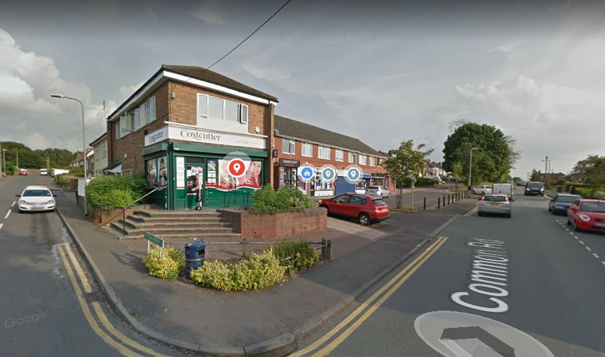 Costcutter in Wombourne was targeted. Photo: Google