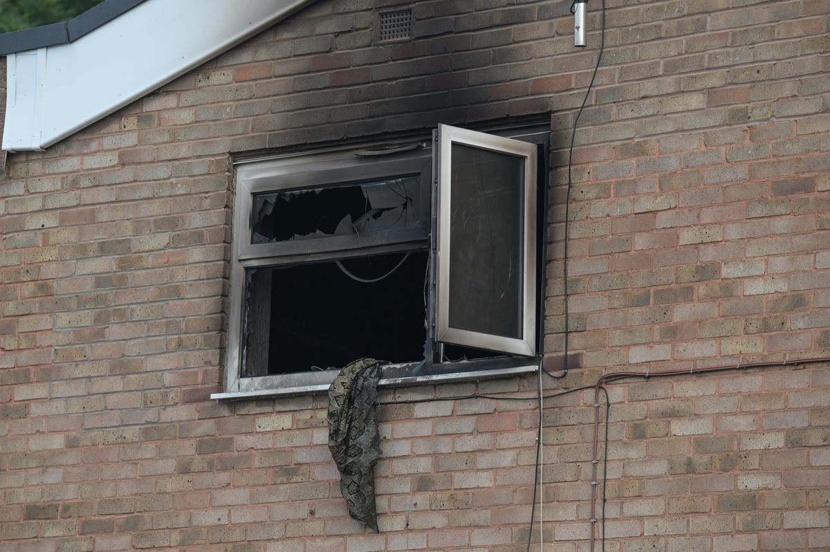 The fire caused major damage. Photo: Snapper SK