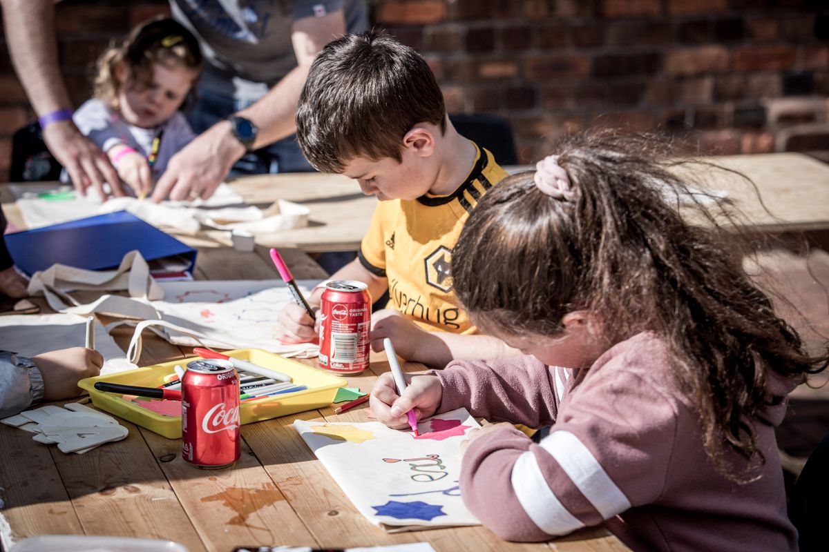 Children joining in activities with Future Bubblers (Image: Clare Hannan)