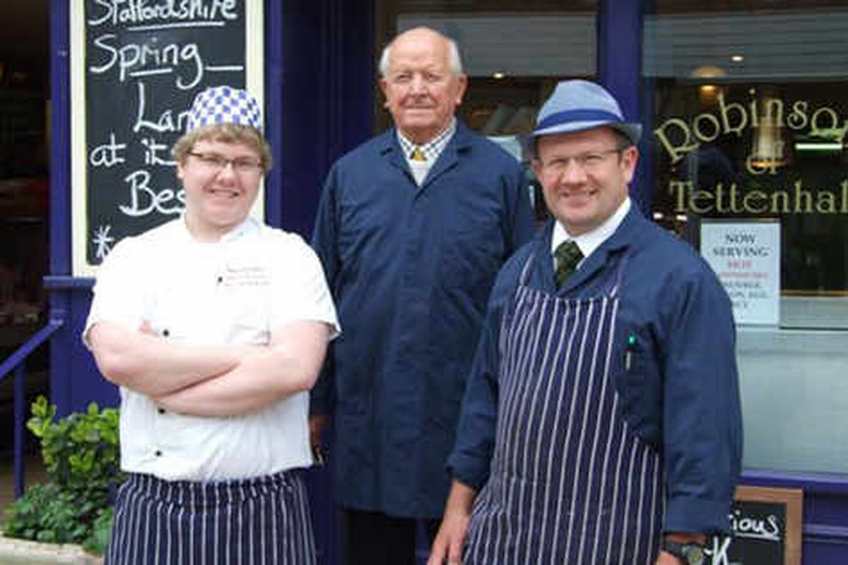 Butcher's shop celebrating 105 years