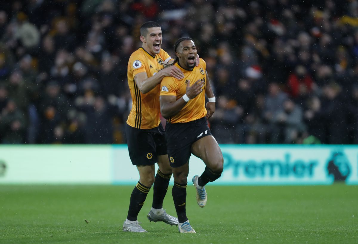 Goalscorer Adama Traore was on the end of some heavy challenges (AMA)