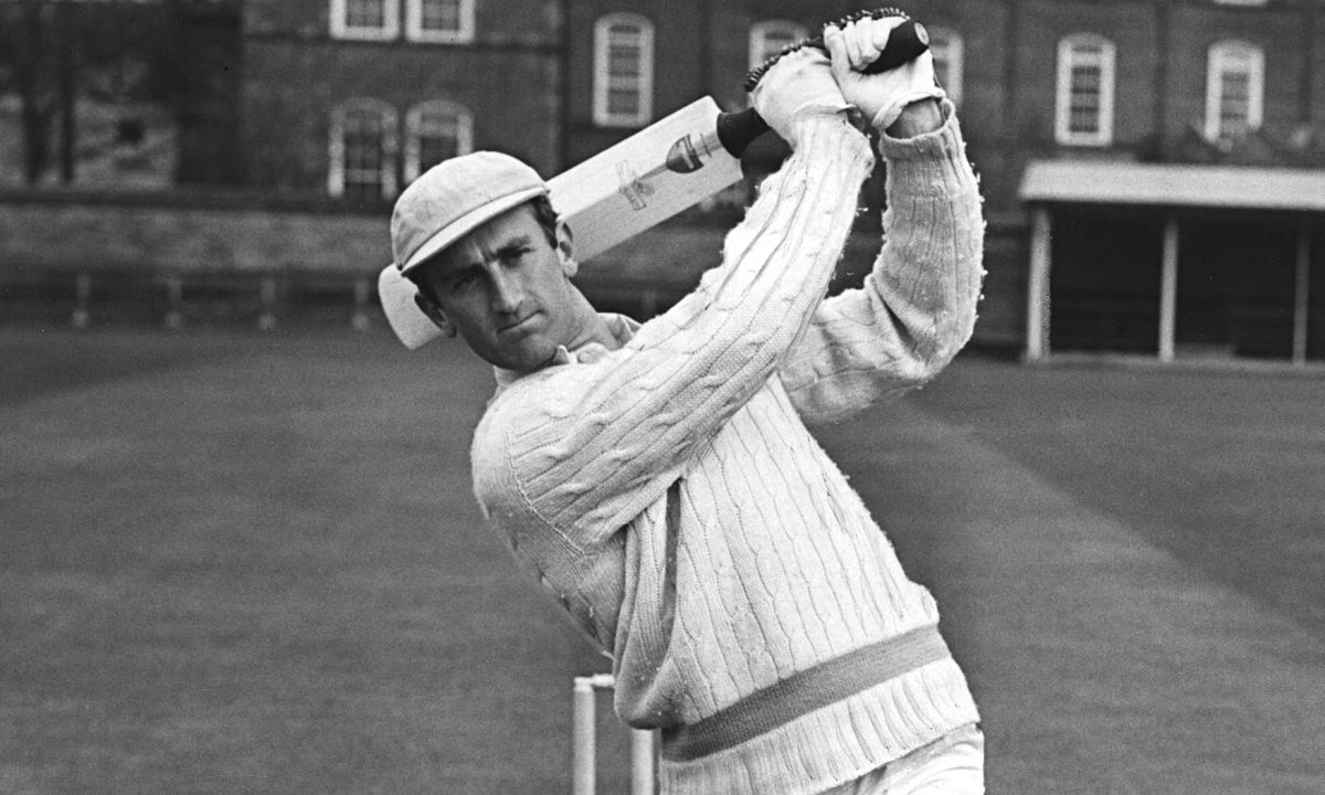 In his playing days Ted Dexter was known as a swashbuckling batsman